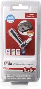 Speedlink SL-8690-SBK-01 FAMA Notebook Microphone, schwarz