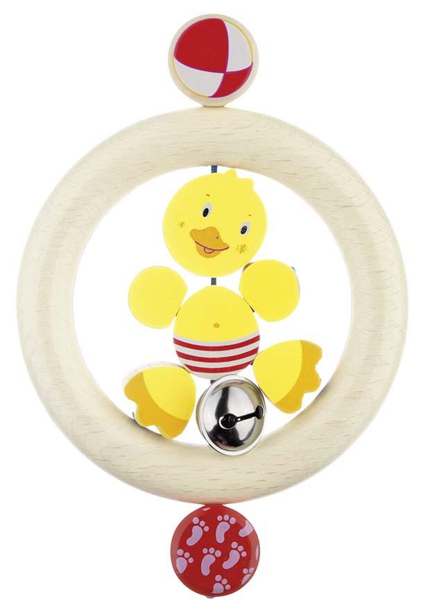 Goki 35150 - Greifling Ente, Holz