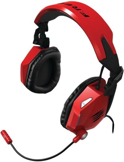 F.R.E.Q. 5 Stereo-Spiele-Headset für PC und Mac, rot