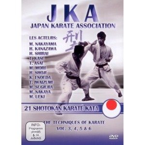 JKA Japan Karate Association: 21 Shotokan Kata