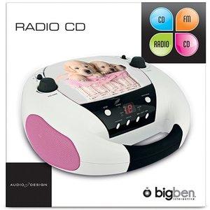 Tragbares CD-Radio CD52 - Dogs
