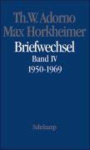 Briefwechsel 1927-1969. Bd.4