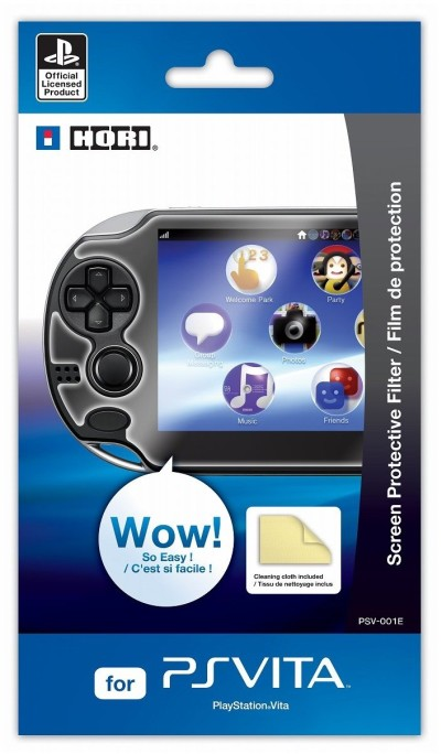 Display-Schutzfolie / Screen Protection für PS VITA