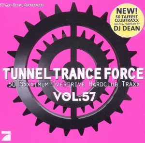 Tunnel Trance Force, 2 Audio-CDs. Vol.57