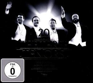 20 Years The Three Tenors, 1 Audio-CD + 1 DVD (Jubiläumsedition)