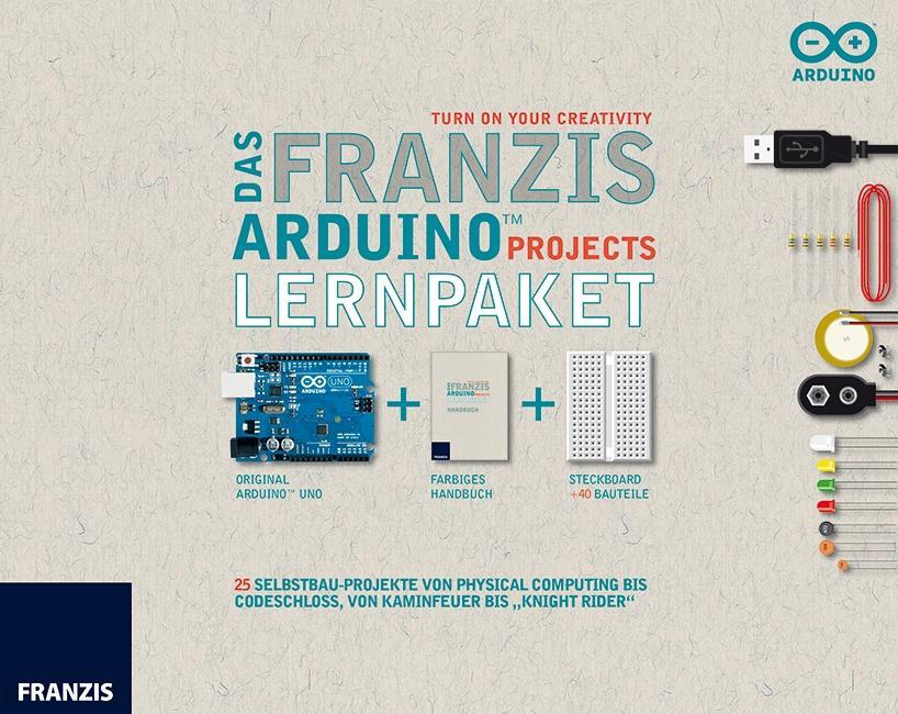 Das Franzis Arduino Projects Lernpaket