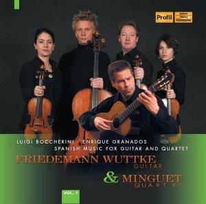 Wuttke, F: Spanische Musik Für Gitarre Und Streichquartett