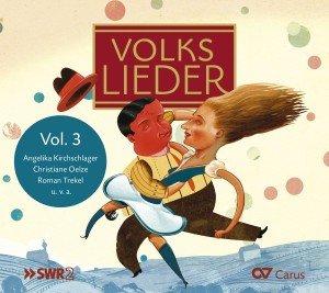 Volkslieder. Vol.3, 1 Audio-CD + Booklet