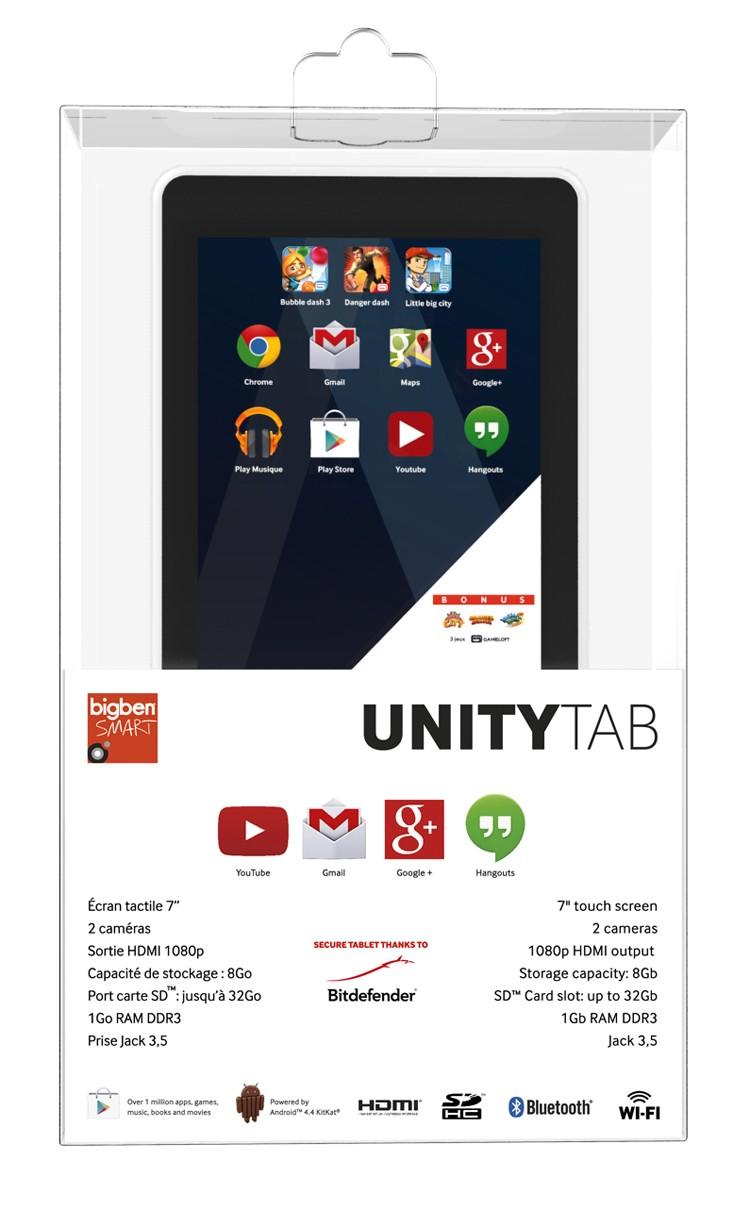UNITY TAB - Weiß - 7 Tablet (ca, 17,7 cm)