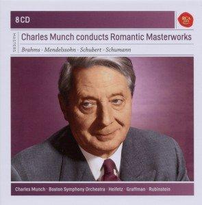 Charles Munch conducts Romantic Masterworks, 8 Audio-CDs