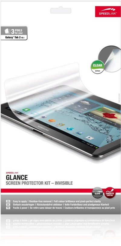 Speedlink SL-7500-CR Glance Invisible Screen Protector Kit für S