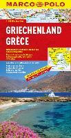 MARCO POLO Länderkarte Griechenland 1 : 800 000