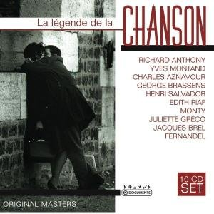 Various: Chanson 10 CD Wallet Box