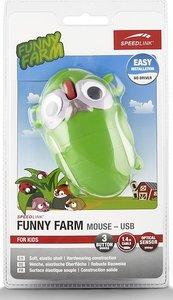 Speedlink SL-6135-GSH FUNNY FARM Mouse USB, FOR KIDS, 3-Tasten-M