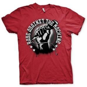 Red Mic Check (T-Shirt Größe XL)