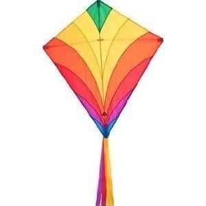 Invento 100045 - Eddy: Rainbow, Kinderdrachen, 68 cm