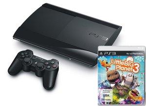 PlayStation 3 Konsole - 12 GB - Schwarz inkl. Little Big Planet