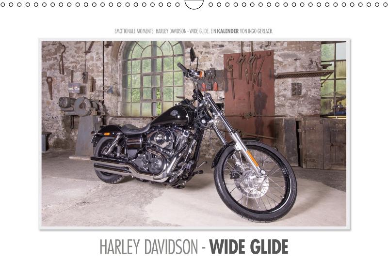 Emotionale Momente: Harley Davidson - Wide Glide / CH-Version