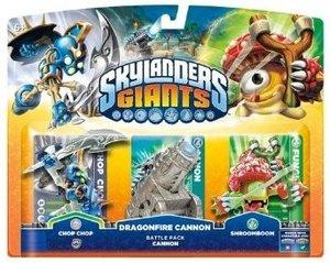 Skylanders: Giants - Battle Pack 1 (Chop Chop, Shroomboom, Canno