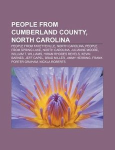 People from Cumberland County, North Carolina