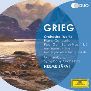 Orchestral Works. Piano Concerto. Peer Gynt Suites Nos.1&2. From Holberg\'s Time. Two Elegiac Melodies. Lyric Suite, 2 Audio-CDs