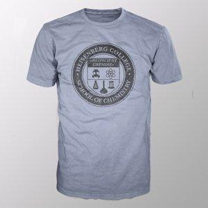 Heisenberg College (Shirt M/Grey-Melange)