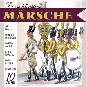 Die schönsten Märsche, 10 Audio-CDs