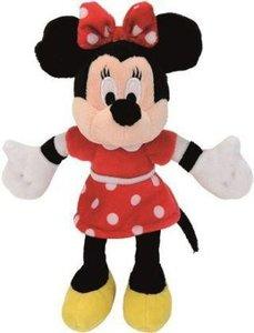 Simba, Disney Minnie Mouse mit rotem Kleid, 20 cm