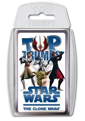 Star Wars The Clone Wars Top Trumps