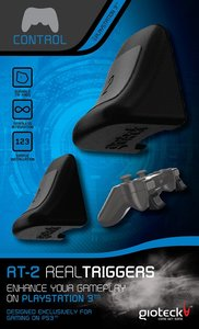 GIOTECK RT-2 Real Triggers für DualShock 3 Controller (Aufsätze)
