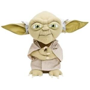 Joy Toy 741858 - Star Wars: Yoda, Plüsch, 40 cm