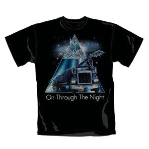 Def Leppard T-Shirt (Gr. M) On Through The Night