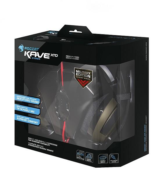 ROCCAT Kave XTD Stereo - Premium Stereo Headset - Desert Strike