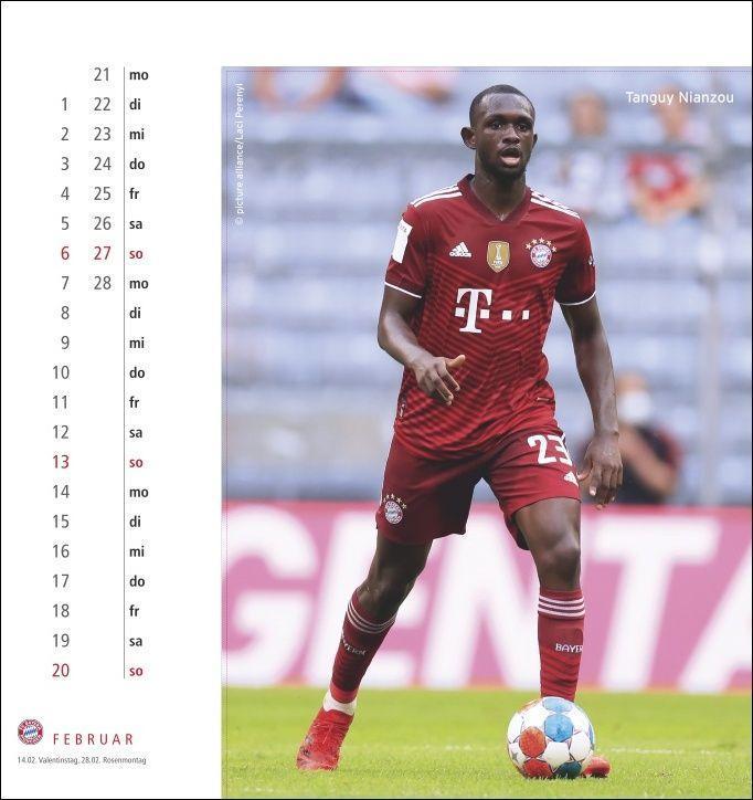 FC Bayern München Postkartenkalender 2022