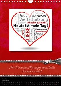 Mit Herz (AT-Version)  (Wandkalender 2022 DIN A4 hoch)