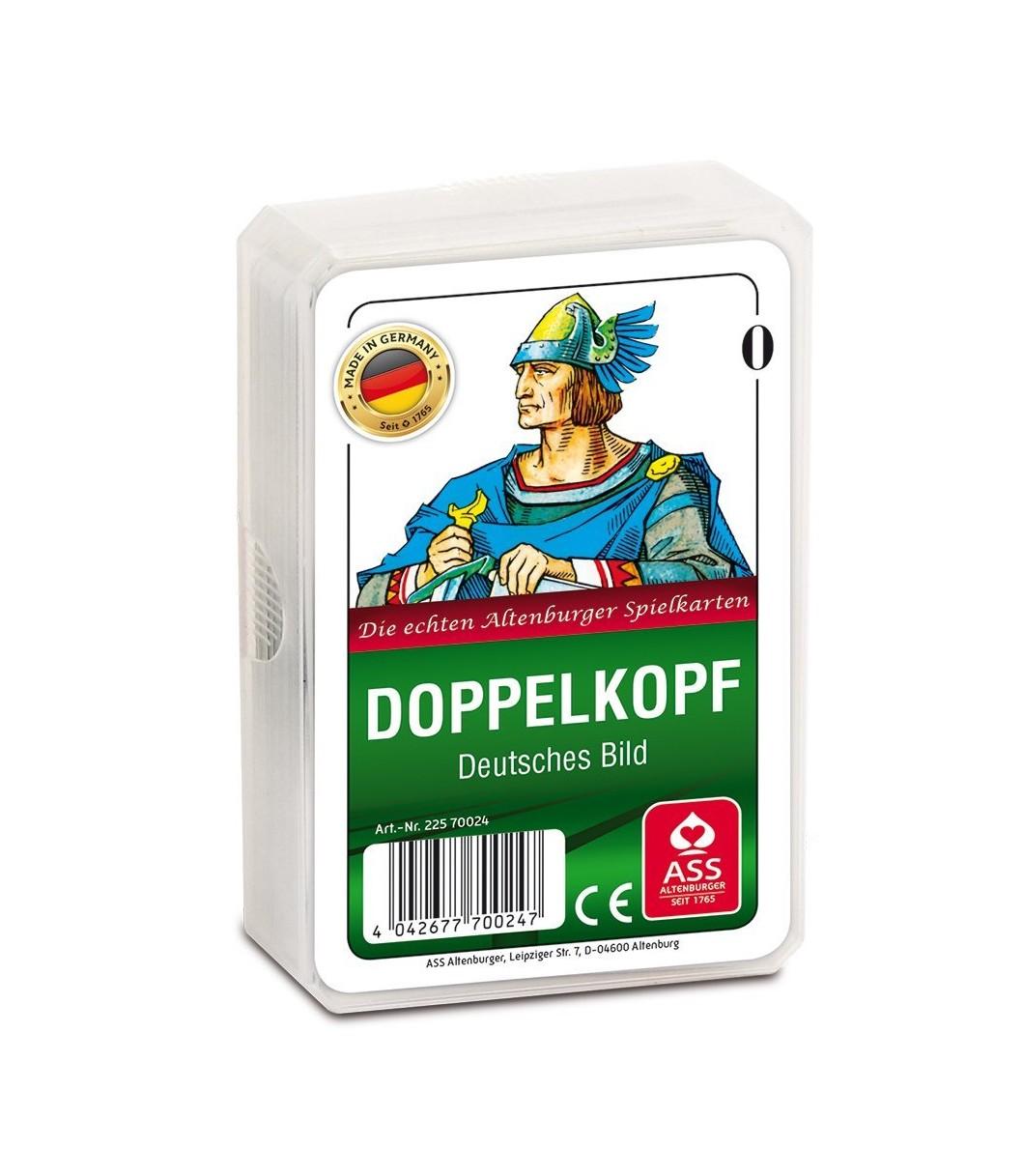 Doppelkopf. Deutsches Bild