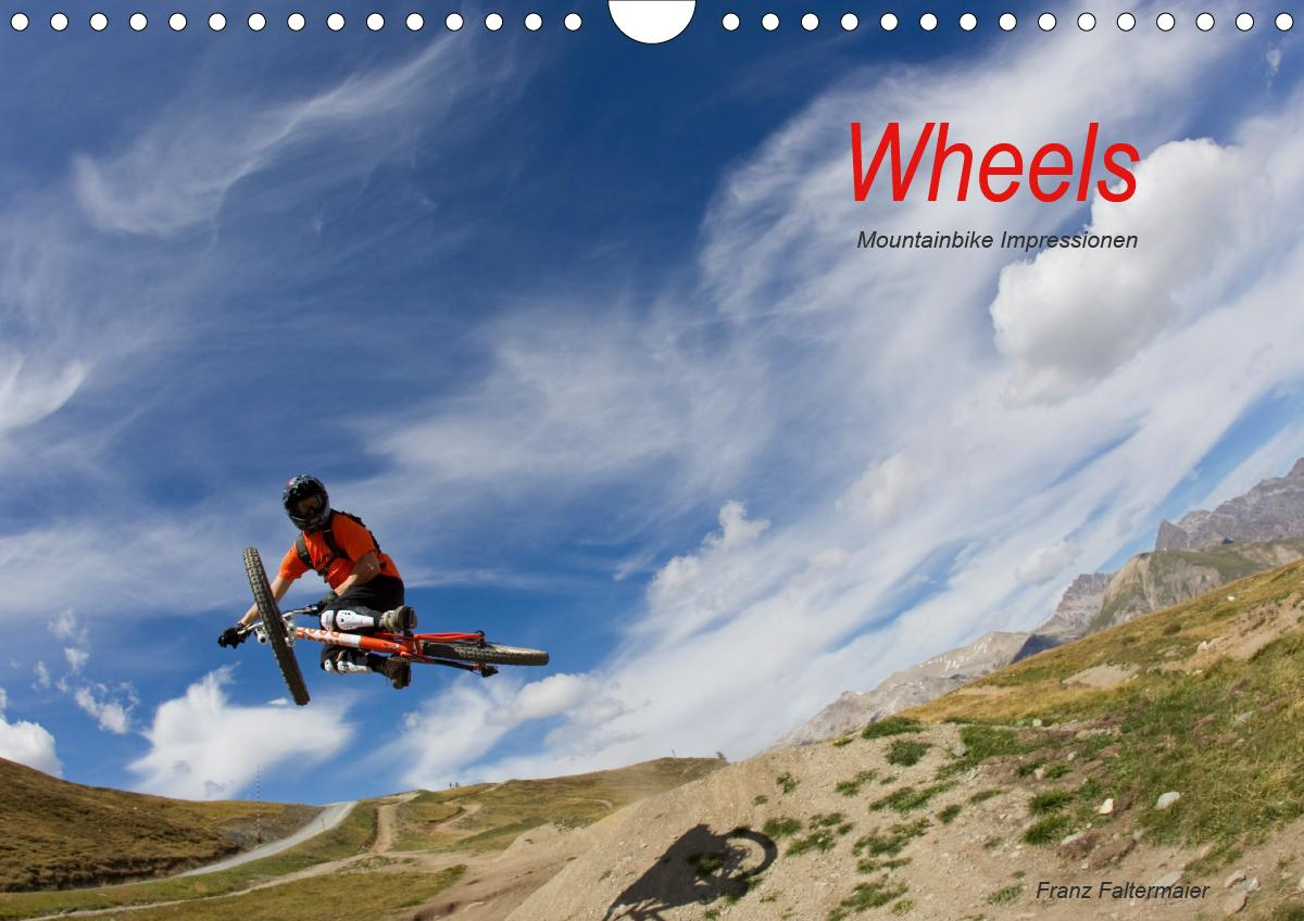 Wheels (Wandkalender 2021 DIN A4 quer)