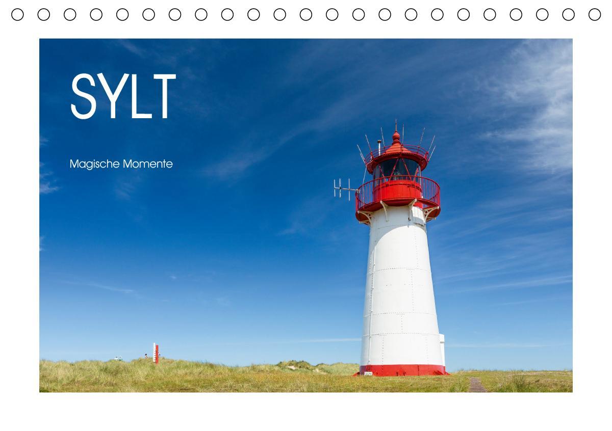 Sylt - Magische Momente (Tischkalender 2021 DIN A5 quer)