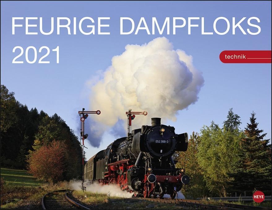 Feurige Dampfloks Kalender 2021
