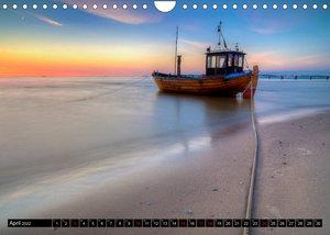 Ostseeküste - im Wechselspiel der Farben (Wandkalender 2022 DIN A4 quer)