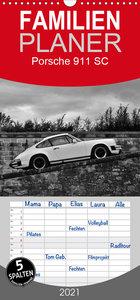 Porsche 911 SC - Familienplaner hoch (Wandkalender 2021 , 21 cm