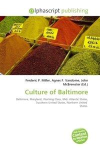 Culture of Baltimore