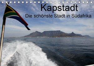 Kapstadt - Die schonste Stadt S?dafrikasAT-Version (Tischkalender 2021 DIN A5 quer)
