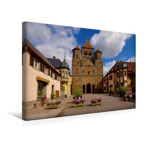 Premium Textil-Leinwand 45 cm x 30 cm quer Kloster Marmoutier