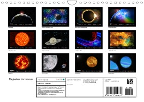 Magisches Universum (Wandkalender 2021 DIN A4 quer)