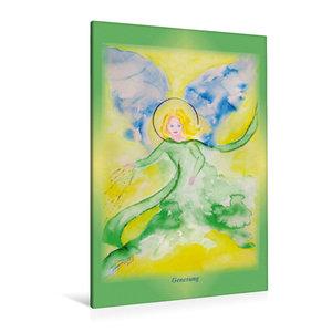 Premium Textil-Leinwand 80 cm x 120 cm  hoch Ein Motiv aus dem Posterbuch ENGEL - Lichtboten für die Seele