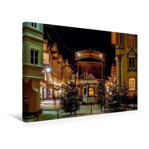 Premium Textil-Leinwand 45 cm x 30 cm quer Eingang zum Weihnacht