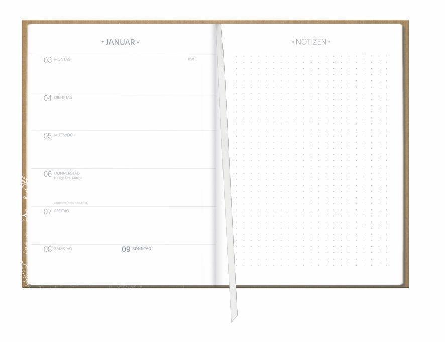 Chalk Drawing Kalenderbuch A5 Kalender 2022