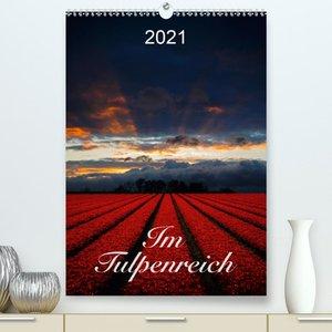 Im Tulpenreich (Premium, hochwertiger DIN A2 Wandkalender 2021,