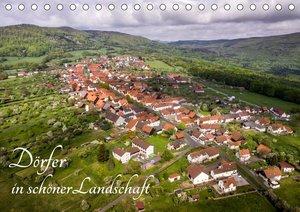 Dörfer in schöner Landschaft (Tischkalender 2021 DIN A5 quer)